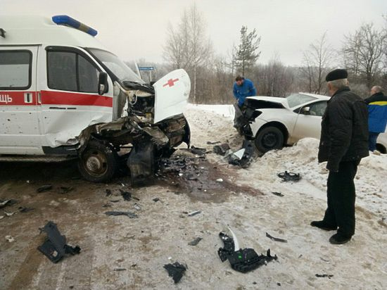 Во Владимирской области «Скорые» все чаще попадают в аварии