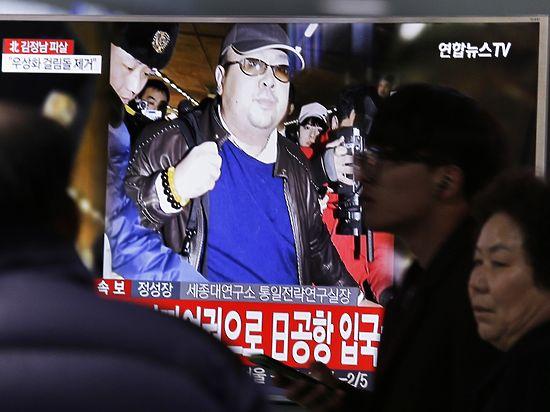 К смерти Ким Чон Нама могут быть причастны шесть человек