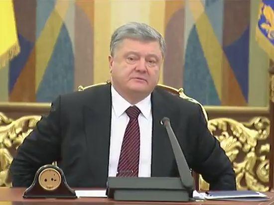 Порошенко назвал признание паспортов Донбасса доказательством оккупации Россией региона