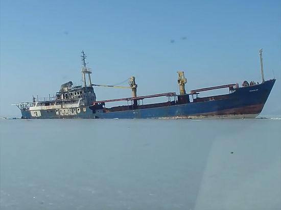 Началась буксировка судна «Еруслан»