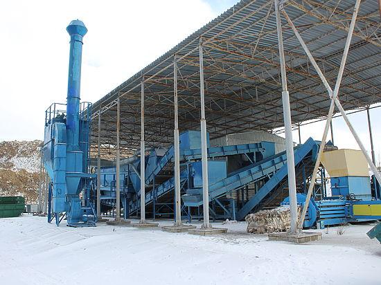В Крыму заработает мусоросортировочный завод из Австрии