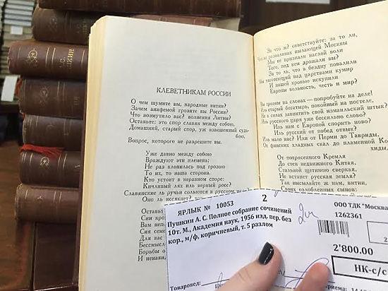 Депутат Ямпольская соврала россиянам о Пушкине