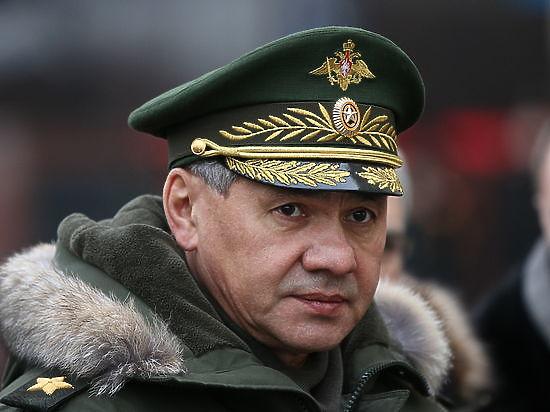 Сергей Шойгу приказал устроить вечером 23 февраля праздничный салют