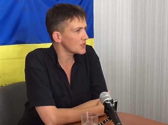 Надежду Савченко обвинили в рекламе тюрем