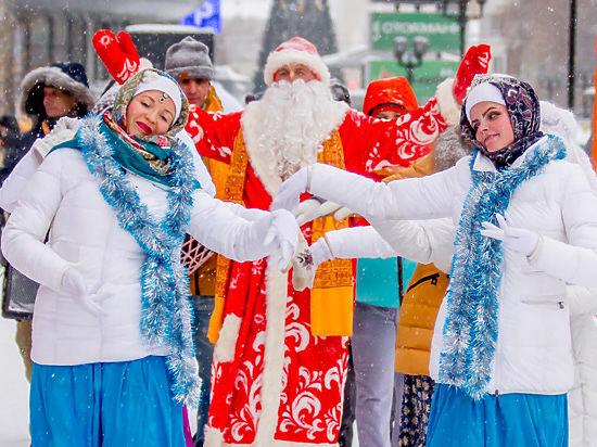 Деда Мороза на городском празднике осудили за нарушение антитеррористического закона