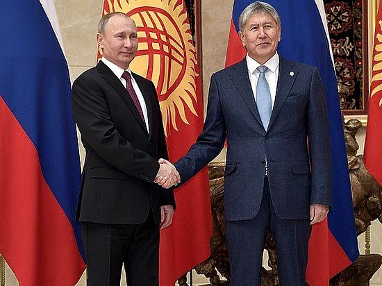 Военная база вКиргизии может быть закрыта потребованию Бишкека— Путин
