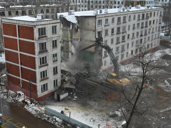 В столице осталось снести 70 пятиэтажек
