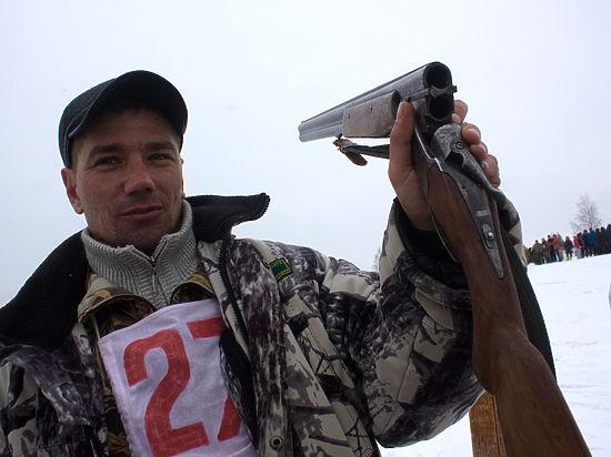 На полигоне в Мулино прошел охотничий биатлон