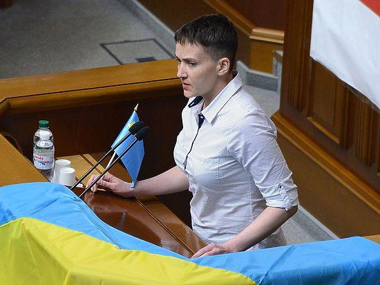 Надежда Савченко будет непрезидентом, адиктатором