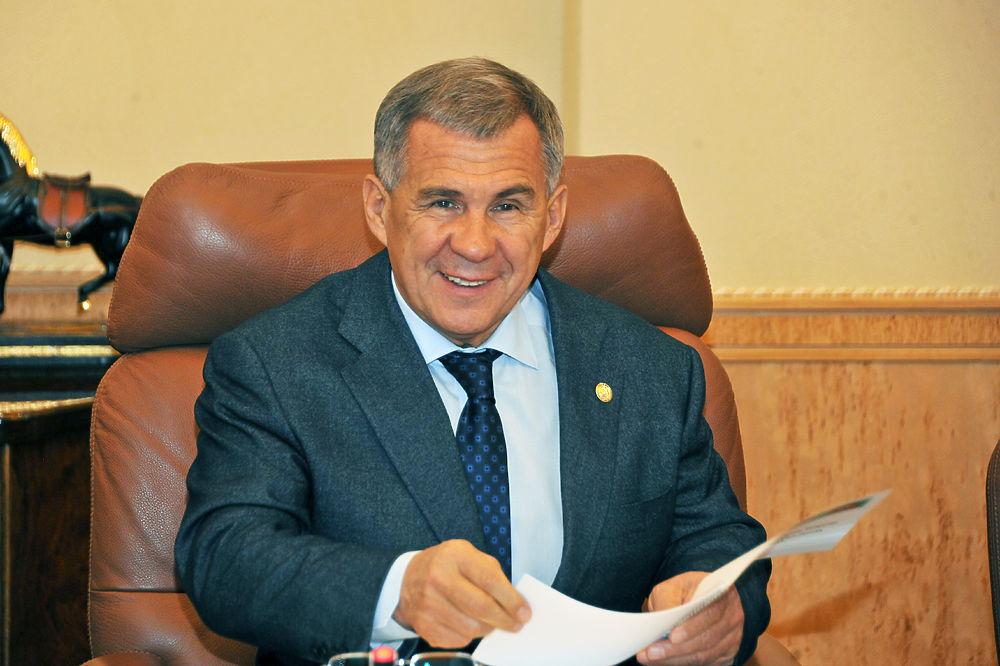 Президент РТ Рустам Минниханов отмечает 60-летний юбилей