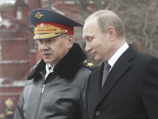 Шойгу доложил Путину о повторном освобождении Пальмиры от ИГ