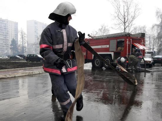 Женщине довелось прыгать с8-го этажа— Пожар в столицеРФ