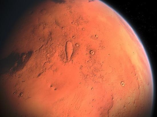 Получены новые свидетельства существования воды на Марсе