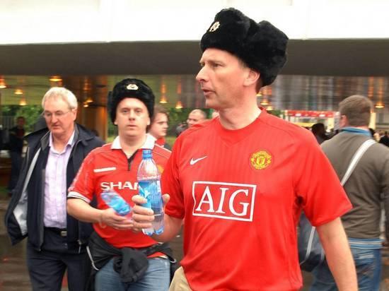 ВРостов прилетели 238 болельщиков «Манчестер Юнайтед»