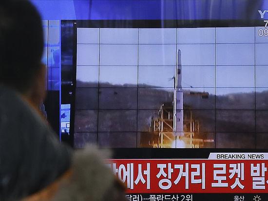 КНДР: ракетный пуск имитировал удар по базам США в Японии