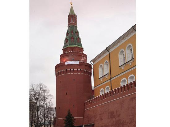 Феминистки признались в подделке фотографии с башни Кремля
