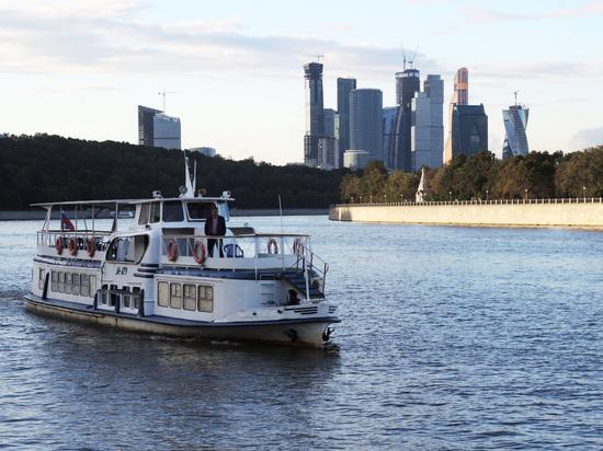 Навигация на Москве-реке откроется на месяц раньше