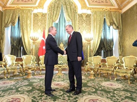 Эрдоган в Москве попросил о снятии санкций с турецких компаний
