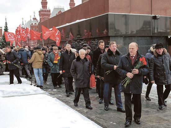 Зюганов заявил, что перезахоронить Ленина хочет