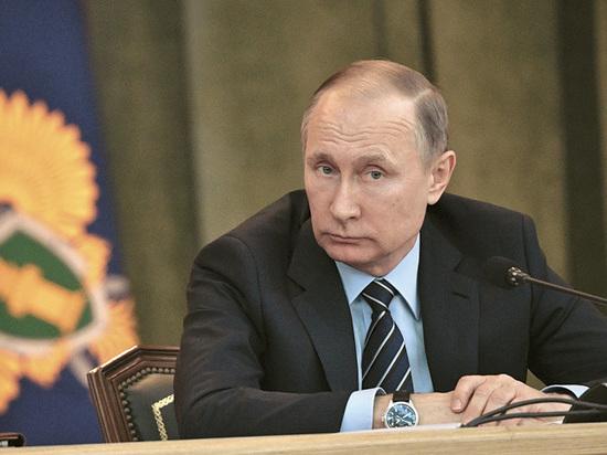 Путин на коллегии Генпрокуратуры потребовал защитить