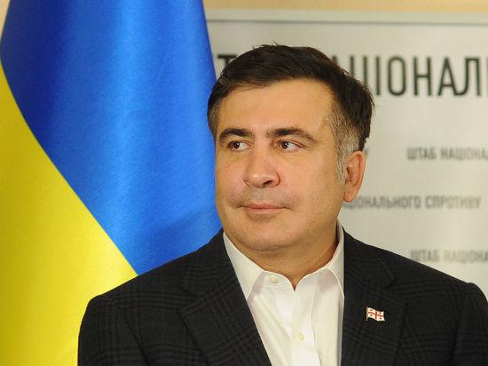 Саакашвили объяснил причину транспортной блокады ДНР и ЛНР