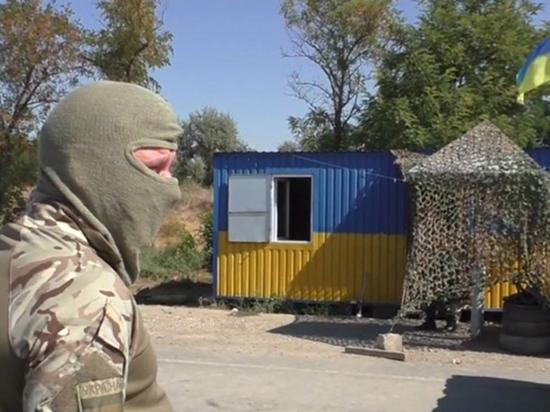 С территории Украины в Донецк: только пешком и без продуктов