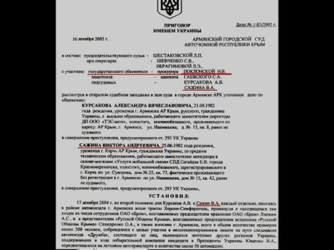 Исповедь защитника Крыма: как «нормальная девчонка» Поклонская сделала его уголовником