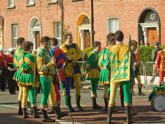 Парад вчесть дня Святого Патрика прошёл в столице