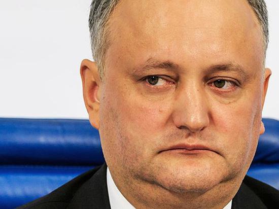 Додон прокомментировал слухи о выводе ФСБ через Молдавию $22 млрд