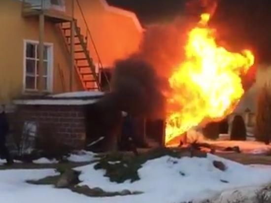 В страшном пожаре под Тверью заживо сгорели животные в зоопарке