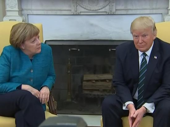 Меркель перед встречей сТрампом погрузилась вPlayboy