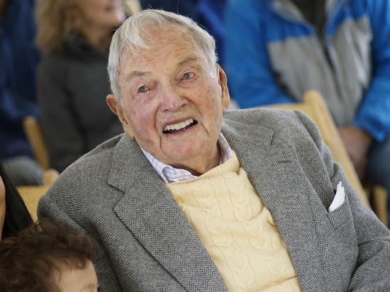 На 102-м году жизни скончался миллиардер Дэвид Рокфеллер