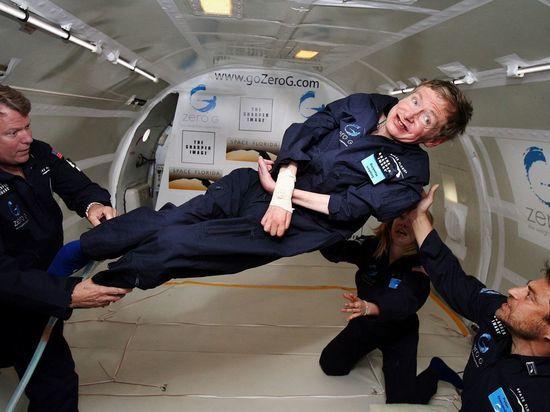 Стивен Хокинг пообещал слетать в космос