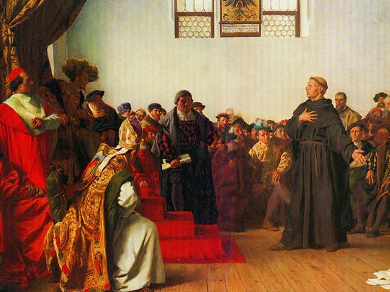 Русские попросили признать христианство традиционной религией в честь 500-летия Реформации