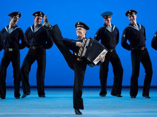 В Большом театре с аншлагом отметили 80-летие ансамбля Моисеева