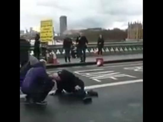 «Террор в Вестминстере»: злоумышленник сбил нескольких человек и ранил полицейского