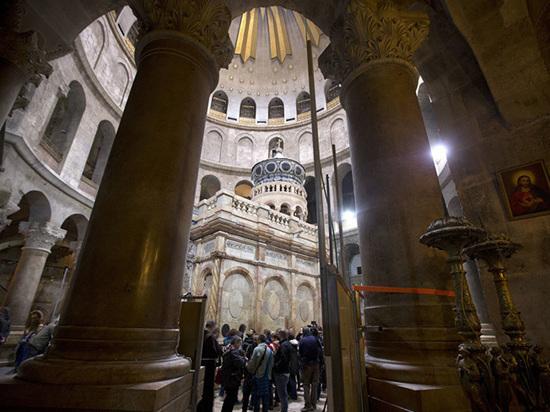 Специалисты заявили, что гробница Христа может обрушиться в любой момент