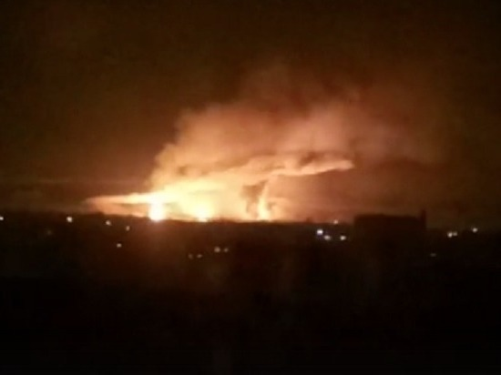 Причиной взрыва на складе боеприпасов под Харьковом объявили диверсию