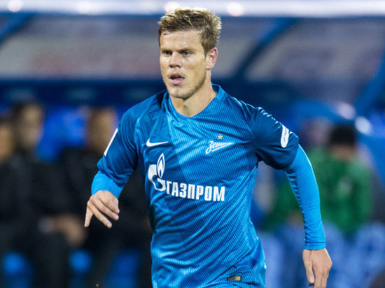 Футболист «Зенита» Кокорин лишен водительских прав на4 месяца