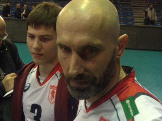 Волейболист Тетюхин сыграл вместе ссыном вчемпионате Российской Федерации