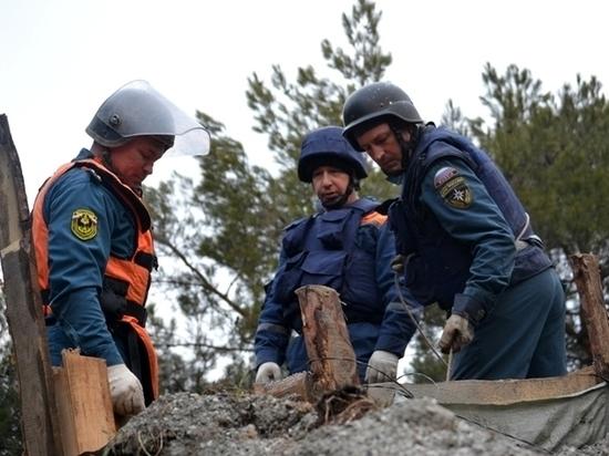 В Севастополе найдены останки 16 солдат при обезвреживании немецкой авиабомбы