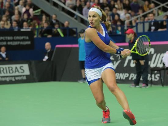 Российскую теннисистку Кузнецову обругали во время матча в США