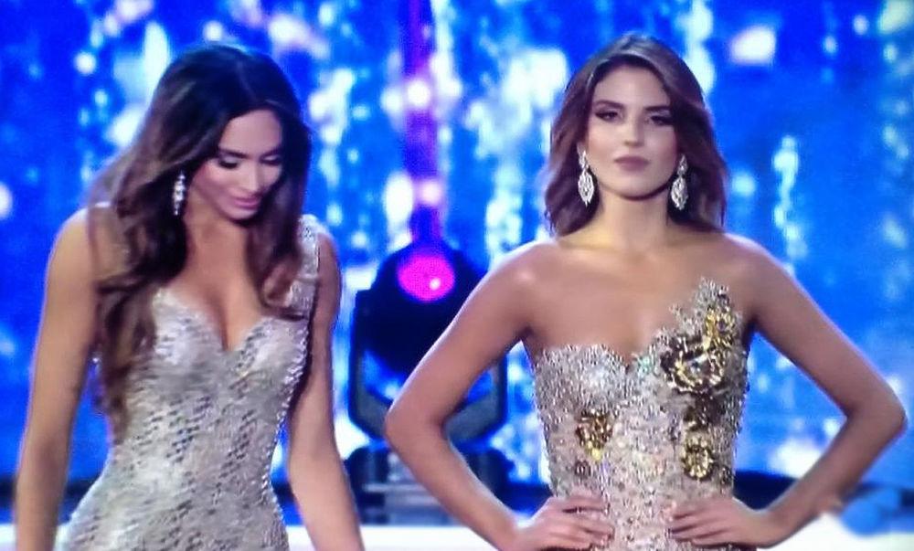 """На редкость равнодушно восприняла свой проигрыш Лоре Гонсалес Оспине в конкурсе """"Мисс Колумбия"""" Ванесса Домингес. В решающий момент красотка как будто волновалась, однако, когда победу присудили сопернице, на лице Ванессы не отразилось никаких эмоций. Победительница представит Колумбию на конкурсе """"Мисс Вселенная"""", а обладательница почетного второго места может смело вносить в свое резюме пункт """"стрессоустойчивость""""."""