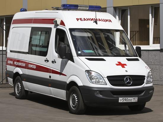 В Москве госпитализированы пенсионерки, которых придавило вырванным ветром деревом