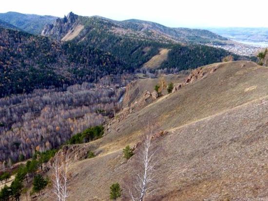 Извилистые тропы Торгашинского хребта Красноярска