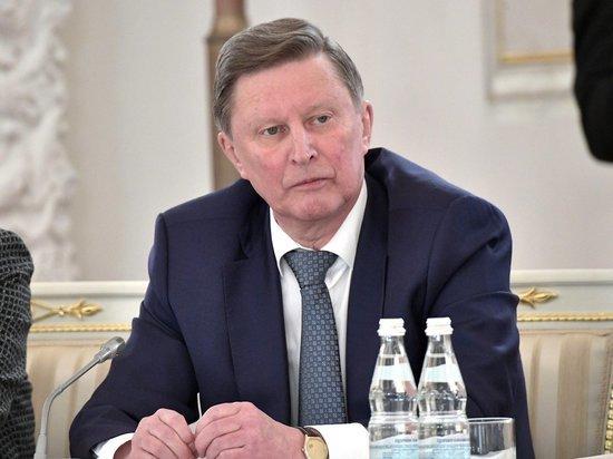 Вопрос об антикоррупционных митингах заставил Иванова перекреститься