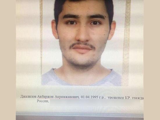Опубликованы новые фото предполагаемого исполнителя теракта в Петербурге