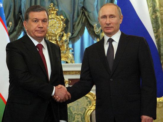 «Такого никогда не было!»: Путин принял президента Узбекистана поразительно пышно
