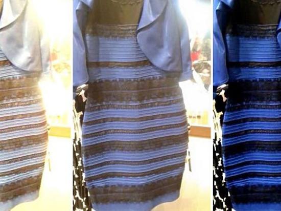 Учёные нашли разгадку феномена взорвашего Сеть сине-золотого «платья раздора»