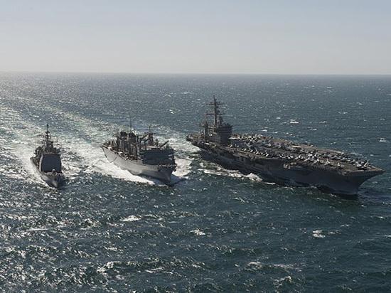 США пошлют к Корейскому полуострову ударную авианосную группу